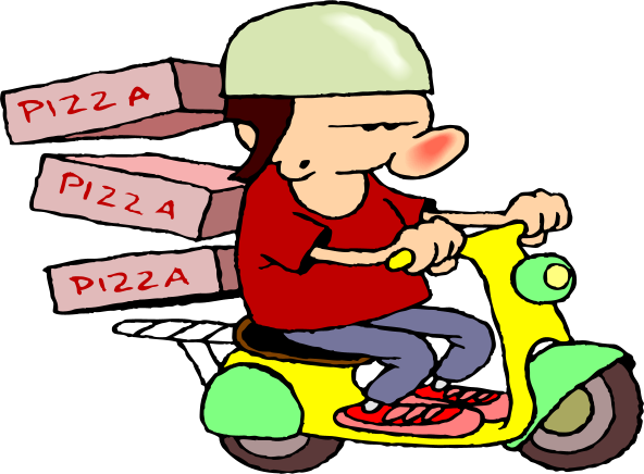 Pizza delivery clipart graphic download Free Clip-art – Pizza Delivery | Clipart Panda - Free ... graphic download