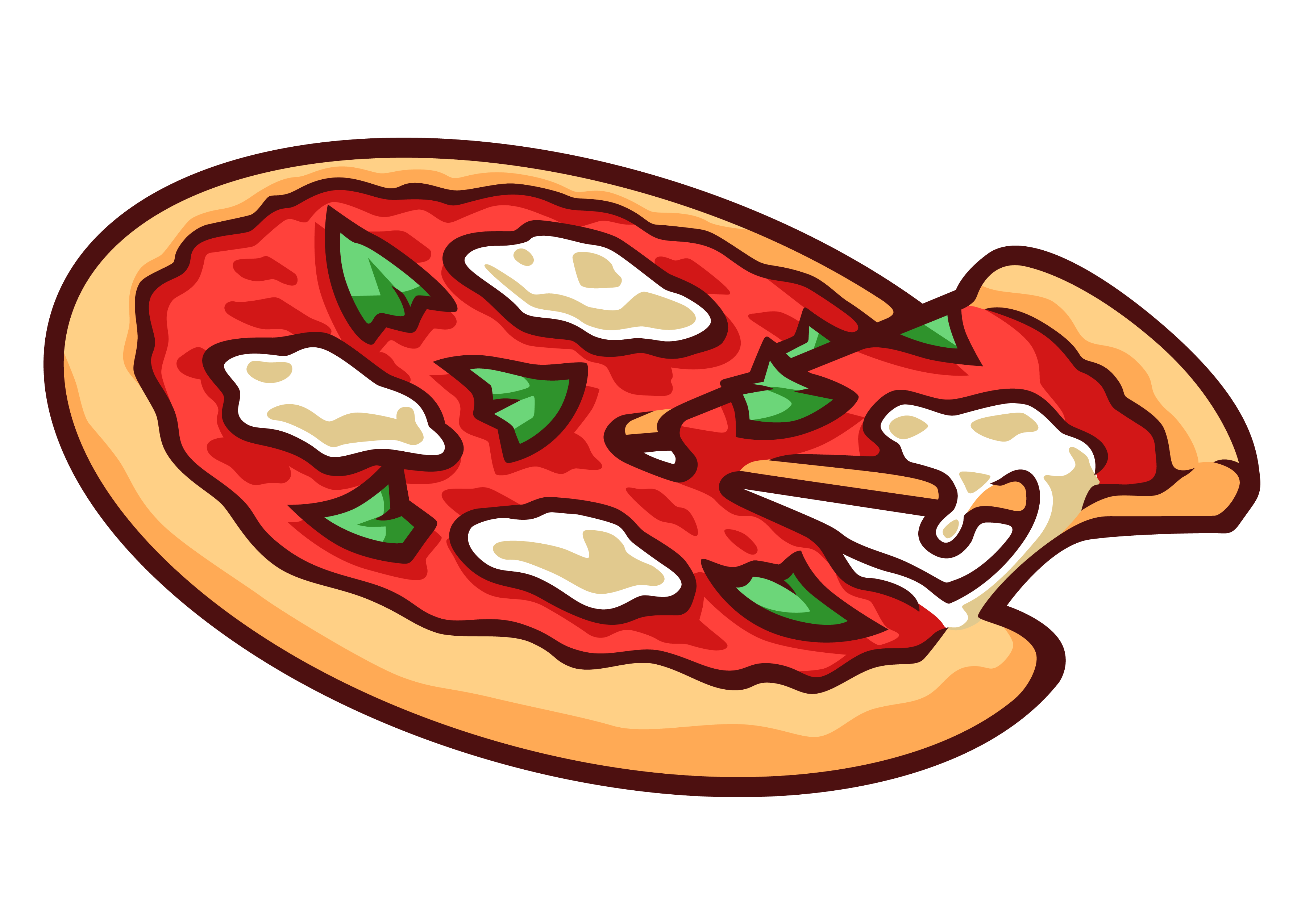 Pizza dollar bill clipart image royalty free stock Free Images Of Pizzas, Download Free Clip Art, Free Clip Art ... image royalty free stock
