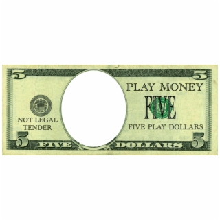 Pizza dollar bill clipart image free download Fake Dollar Clipart - 5 Dollar Bill Play Money - monopoly ... image free download