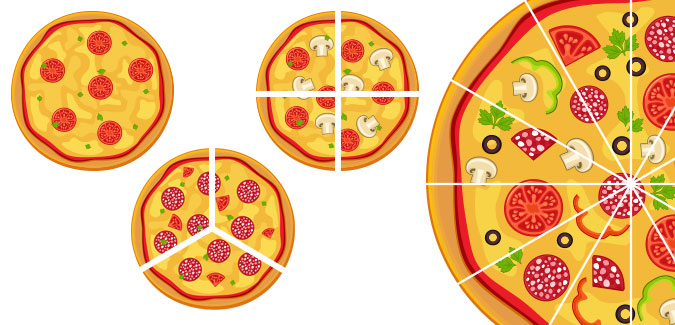 Pizza fractions clipart svg transparent library Fraction Pizza Clipart & Free Clip Art Images #2148 ... svg transparent library