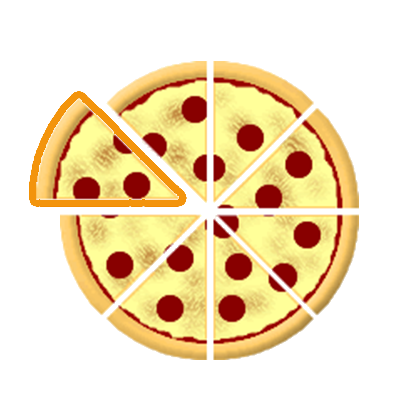 Pizza fractions clipart banner library download Pizza fractions clipart clipart images gallery for free ... banner library download