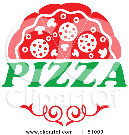Pizza logo clipart picture transparent Royalty-Free (RF) Pizza Logo Clipart, Illustrations, Vector ... picture transparent