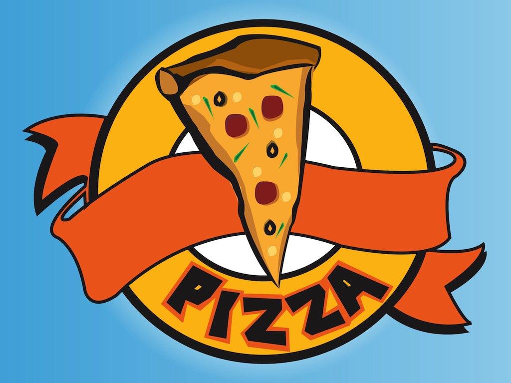 Pizza logo clipart clipart stock Pizza Logo Vector Art & Graphics | freevector.com clipart stock