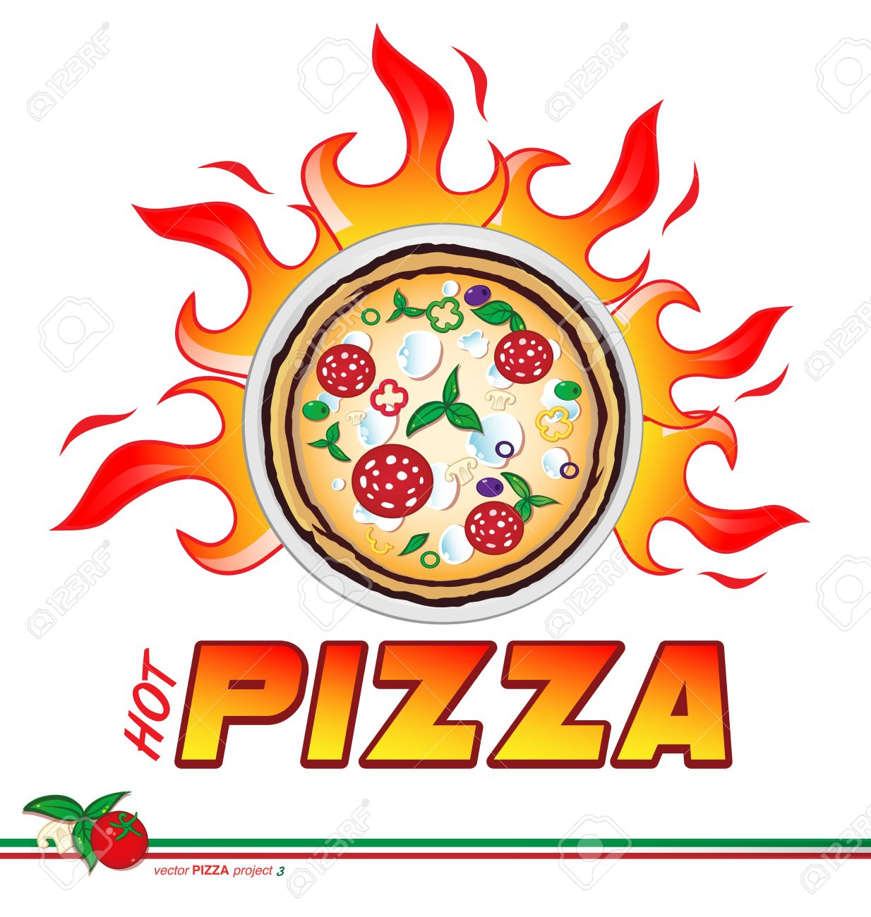 Pizza logo clipart png transparent library 380 Express Pizza Cliparts, Stock Vector And Royalty Free Express ... png transparent library