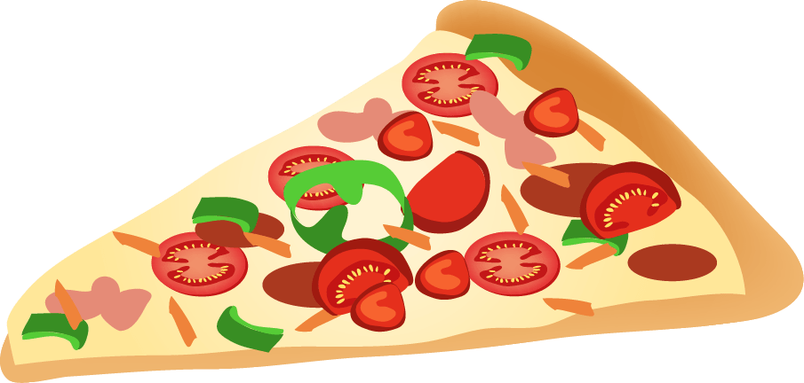 Pizza slice clipart png png free stock Pizza Slice Clipart transparent PNG - StickPNG png free stock