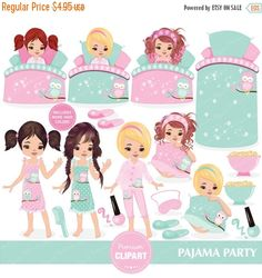 Pjs ancakes and praise clipart image freeuse stock 33 Best Pajama prayer party images in 2016 | Clip art, Party ... image freeuse stock