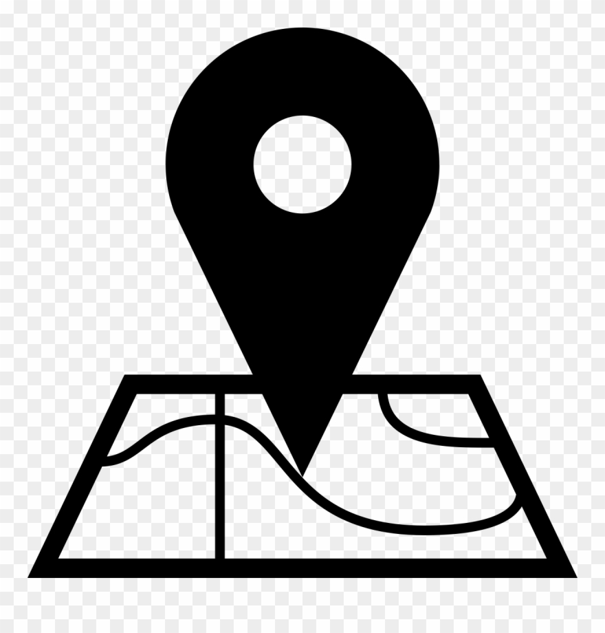 Place clipart on image svg transparent library Place Clipart Black And White - Select Location Icon - Png ... svg transparent library