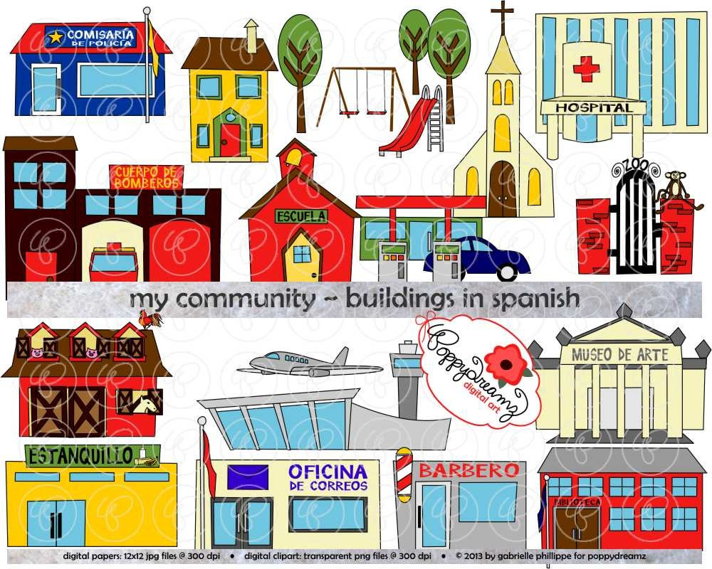 Places in the community clipart graphic royalty free Places in the community clipart 10 » Clipart Station graphic royalty free