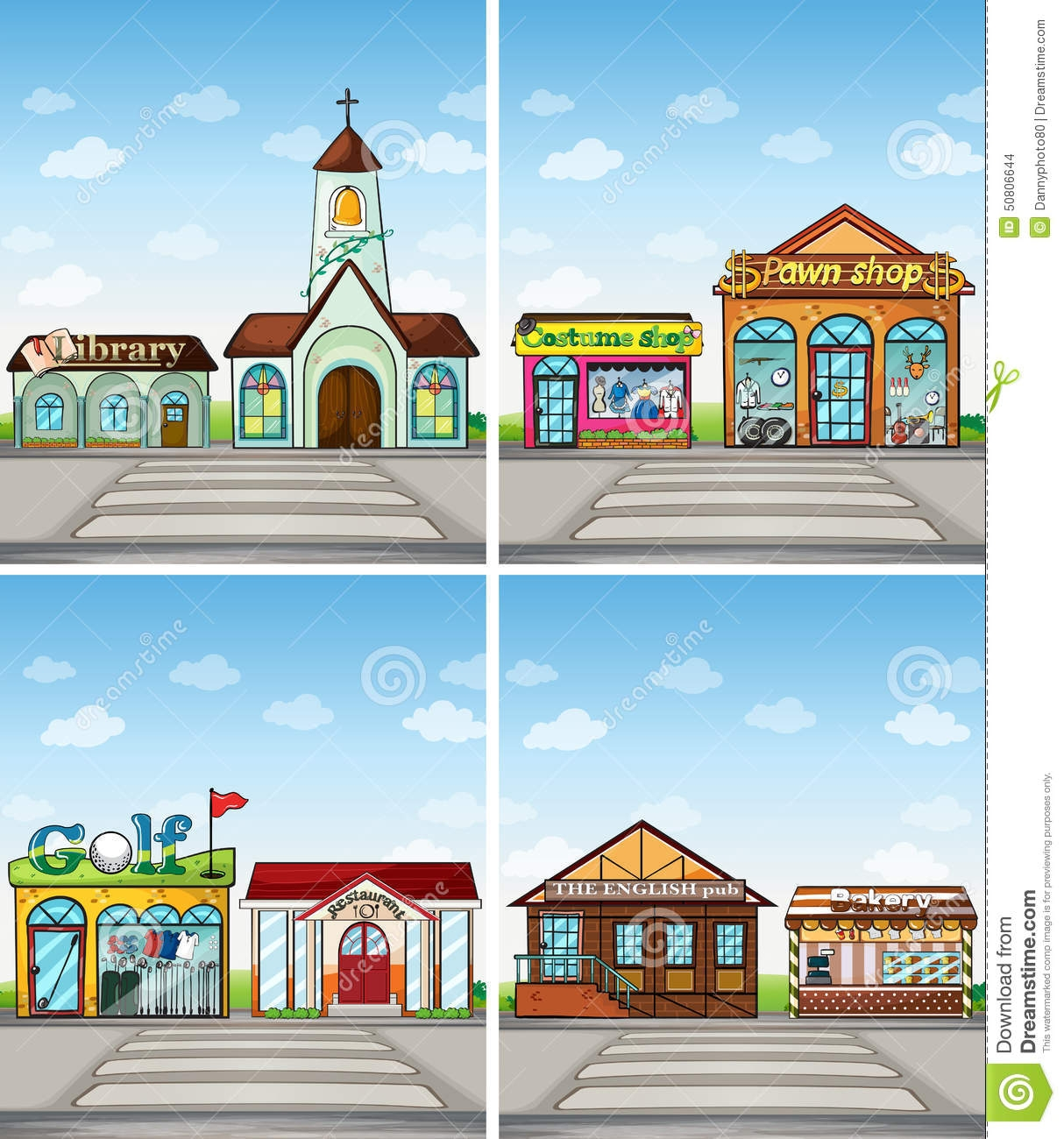 Places in the community clipart svg freeuse Places in the community clipart 11 » Clipart Station svg freeuse