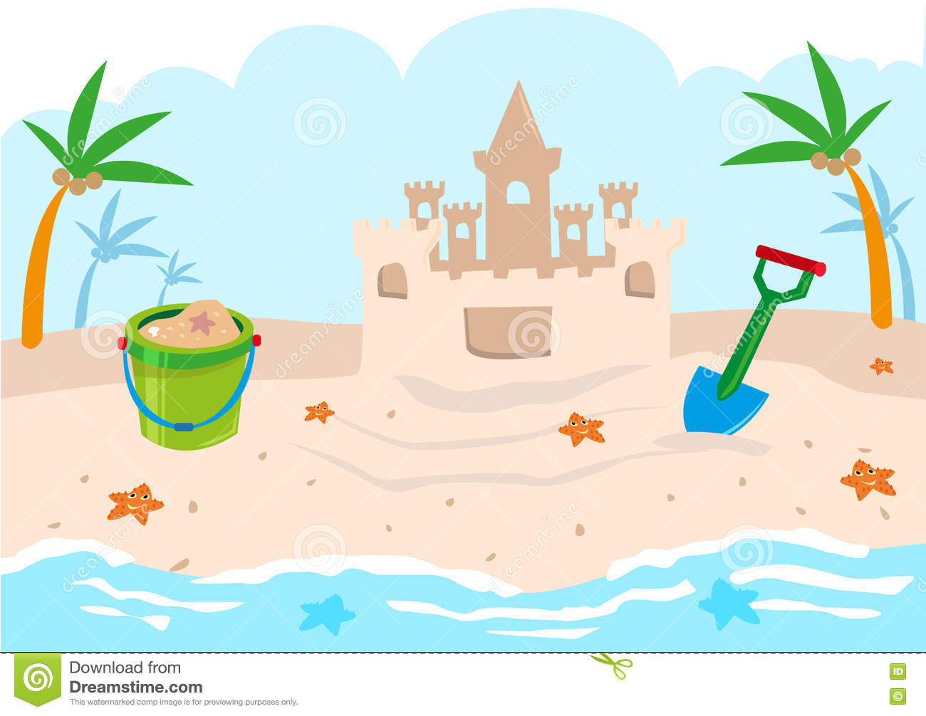 Plage clipart vector freeuse library Plage clipart 5 » Clipart Station vector freeuse library