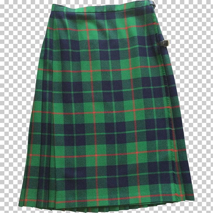 Plaid skirt clipart clip art transparent download Vintage Scottish Kilt, women\'s green plaid skirt PNG clipart ... clip art transparent download