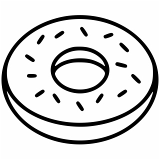 Plain donut black and white clipart jpg transparent download Donut Clipart PNG Images | Cliparts and Silhouettes | Free ... jpg transparent download