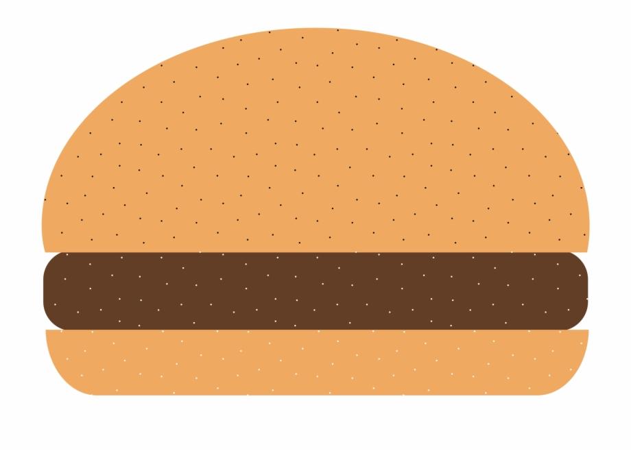 Plain hamburger clipart image Hamburger Cartoon Burger Clipart Image - Plain Burger ... image
