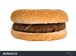 Plain hamburger clipart png black and white Download plain beef burger clipart Hamburger McDonald\'s ... png black and white