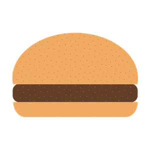 Plain hamburger clipart vector royalty free stock Hamburger clipart, cliparts of Hamburger free download (wmf ... vector royalty free stock