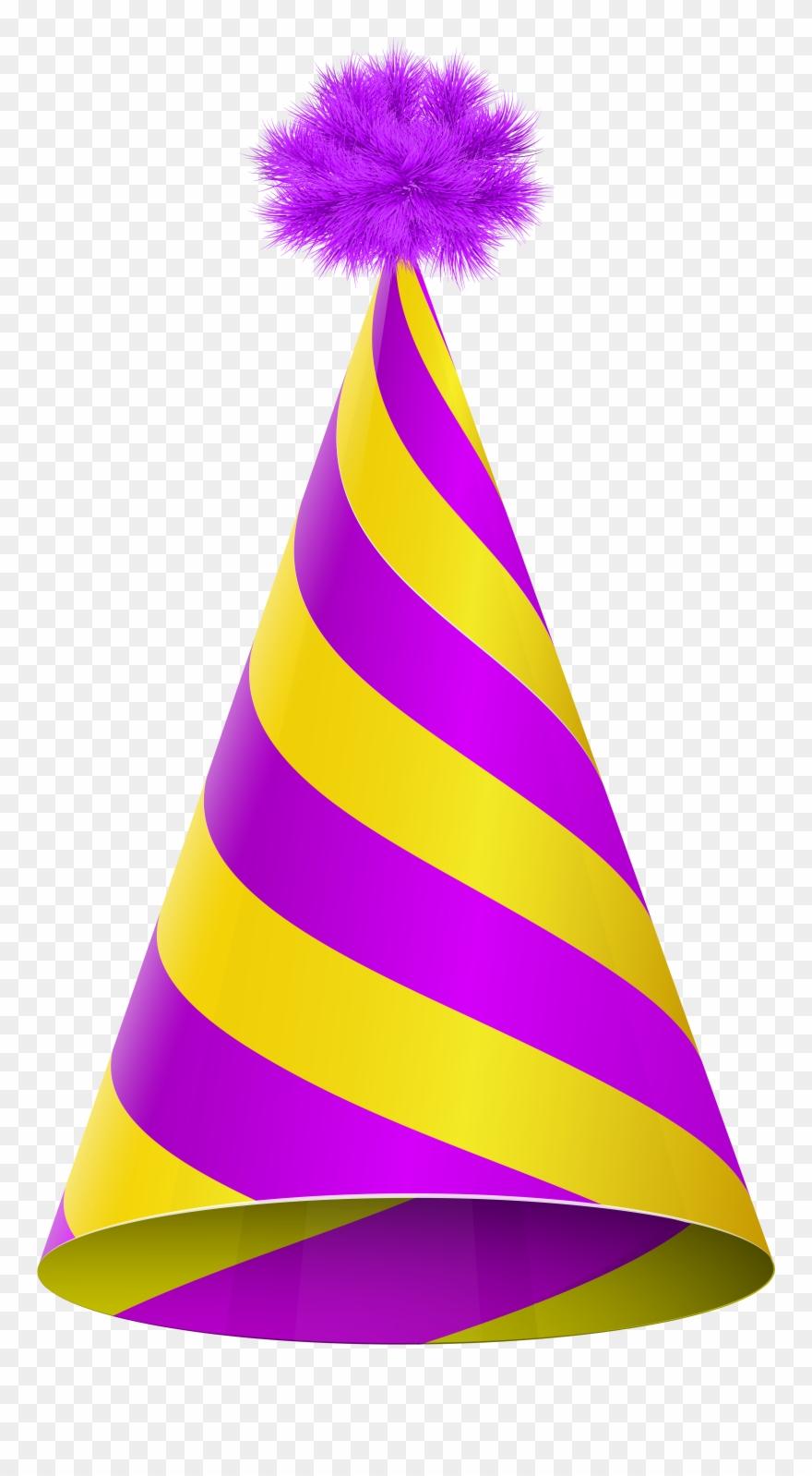 Plain party hat clipart purple transparent background png transparent Party Hat Transparent Png Clipart (#221057) - PinClipart png transparent