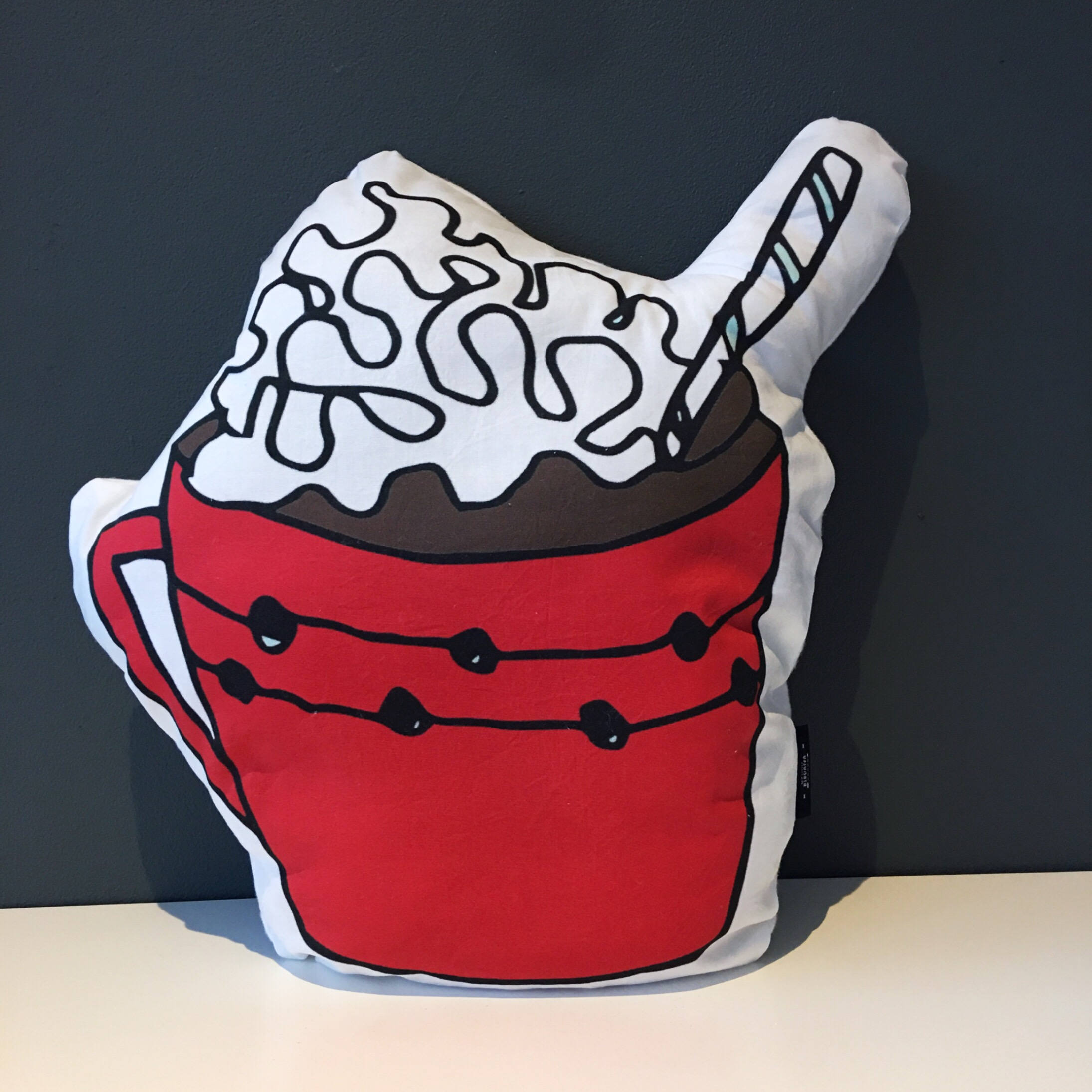 Plain red hot cocoa mug clipart clip freeuse Hot Chocolate pillow clip freeuse