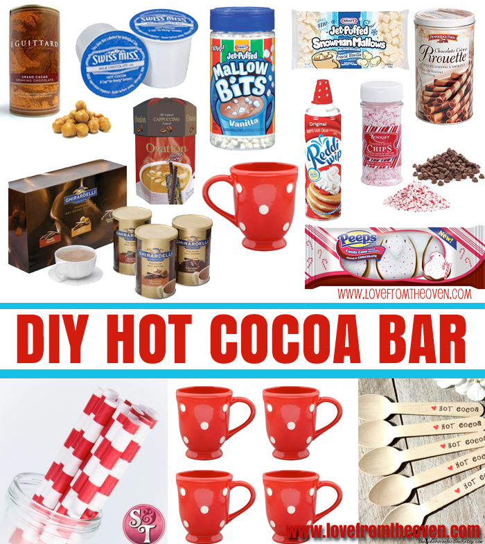 Plain red hot cocoa mug clipart free png transparent stock DIY Hot Cocoa Bar png transparent stock