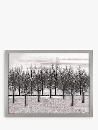 Plains grassland landscape black and white clipart banner black and white download Landscape Framed Print Pictures | John Lewis & Partners banner black and white download