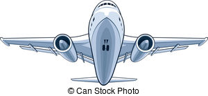 Plane clipart front png transparent Vector Clip Art of Isometric Drone Airplane Landed in Front View ... png transparent