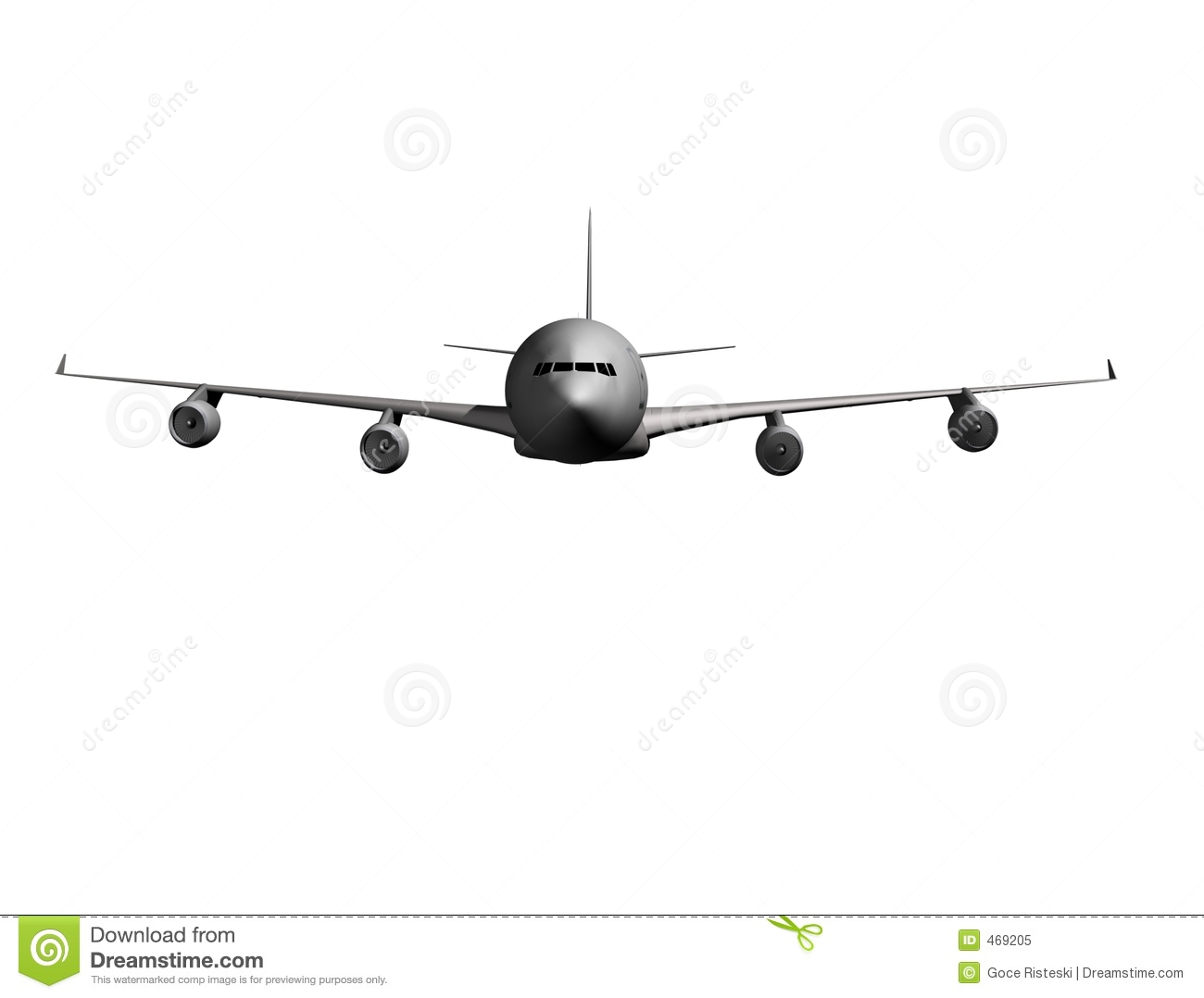 Plane clipart front transparent Airplane Front Royalty Free Stock Photo - Image: 469205 transparent