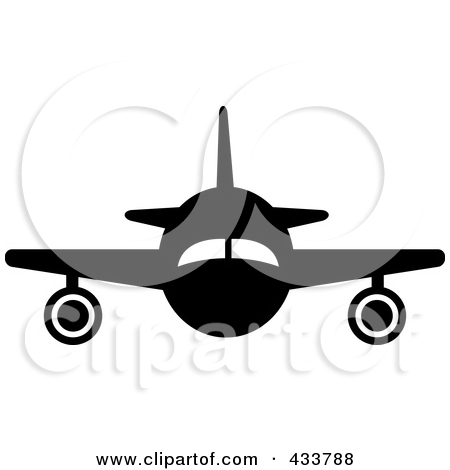 Plane clipart front svg freeuse library Royalty-Free (RF) Passenger Plane Clipart, Illustrations, Vector ... svg freeuse library