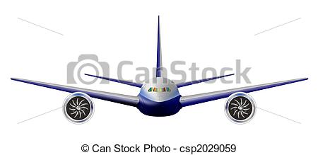 Plane clipart front graphic transparent library Aircraft Illustrations and Clipart. 44,613 Aircraft royalty free ... graphic transparent library