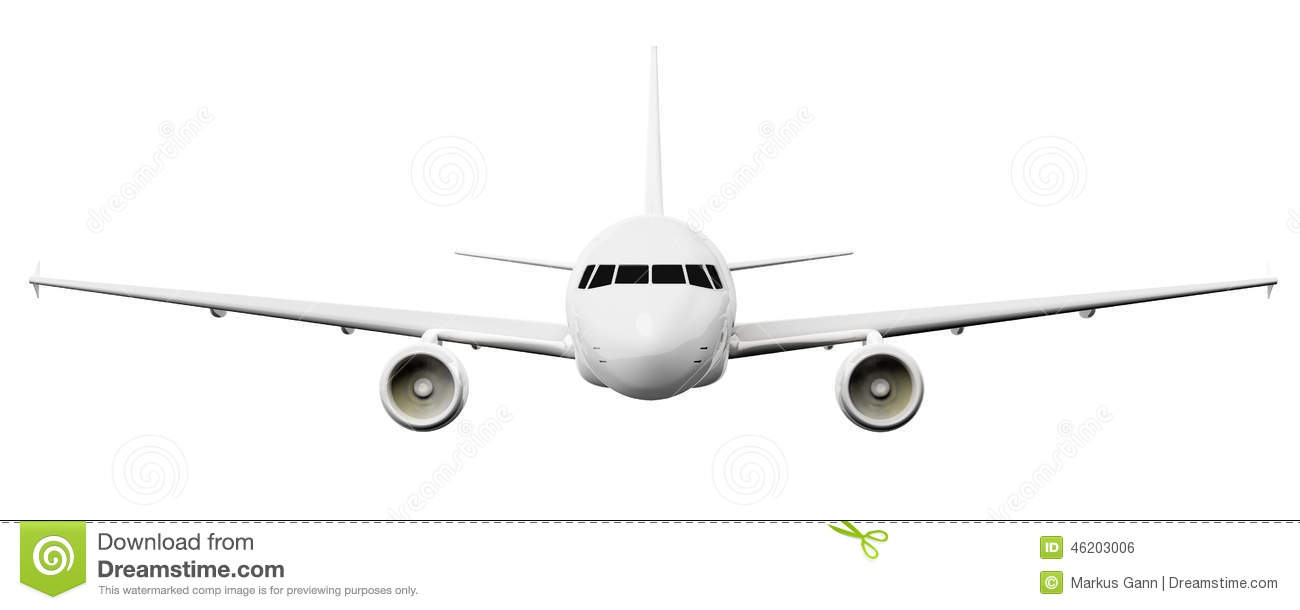 Plane clipart front image black and white download Curious Front Passenger Plane Stock Illustrations – 220 Curious ... image black and white download