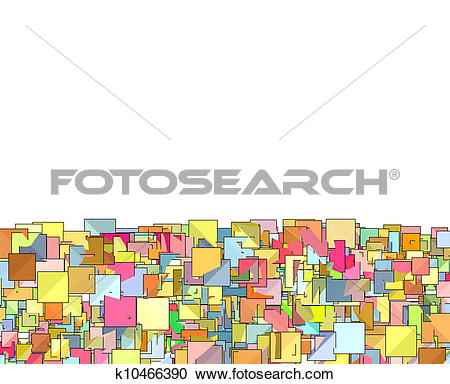 Plane clipart square image library download Stock Illustrations of abstract composition with candy color ... image library download