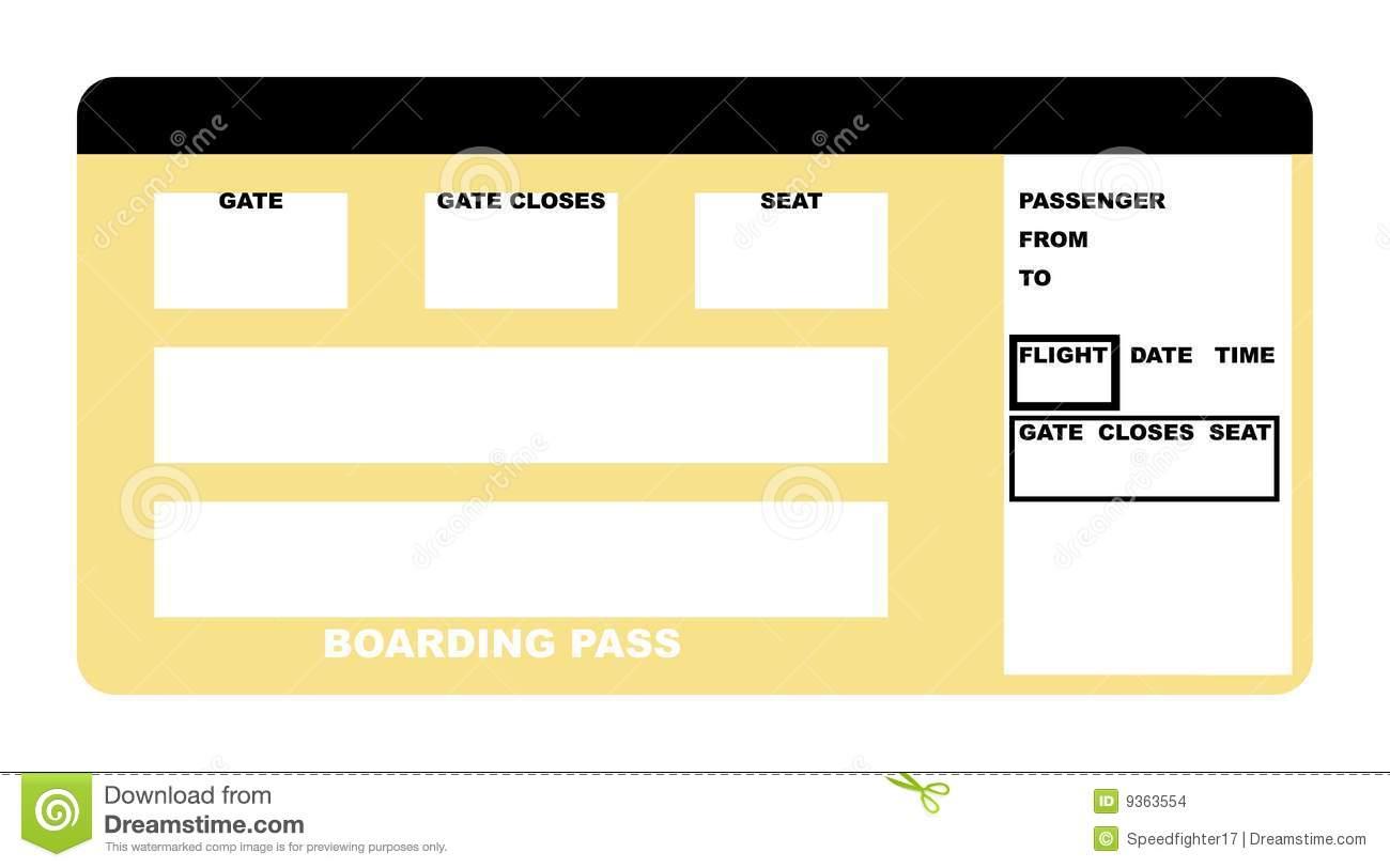 Plane gates clipart svg royalty free stock Blank Plane Ticket Clipart - Clipart Kid svg royalty free stock