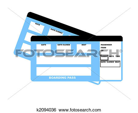 Plane gates clipart clip freeuse stock Airline tickets Illustrations and Clipart. 673 airline tickets ... clip freeuse stock