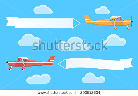 Plane pulling sign clipart image library download Plane pulling sign clipart - ClipartFest image library download