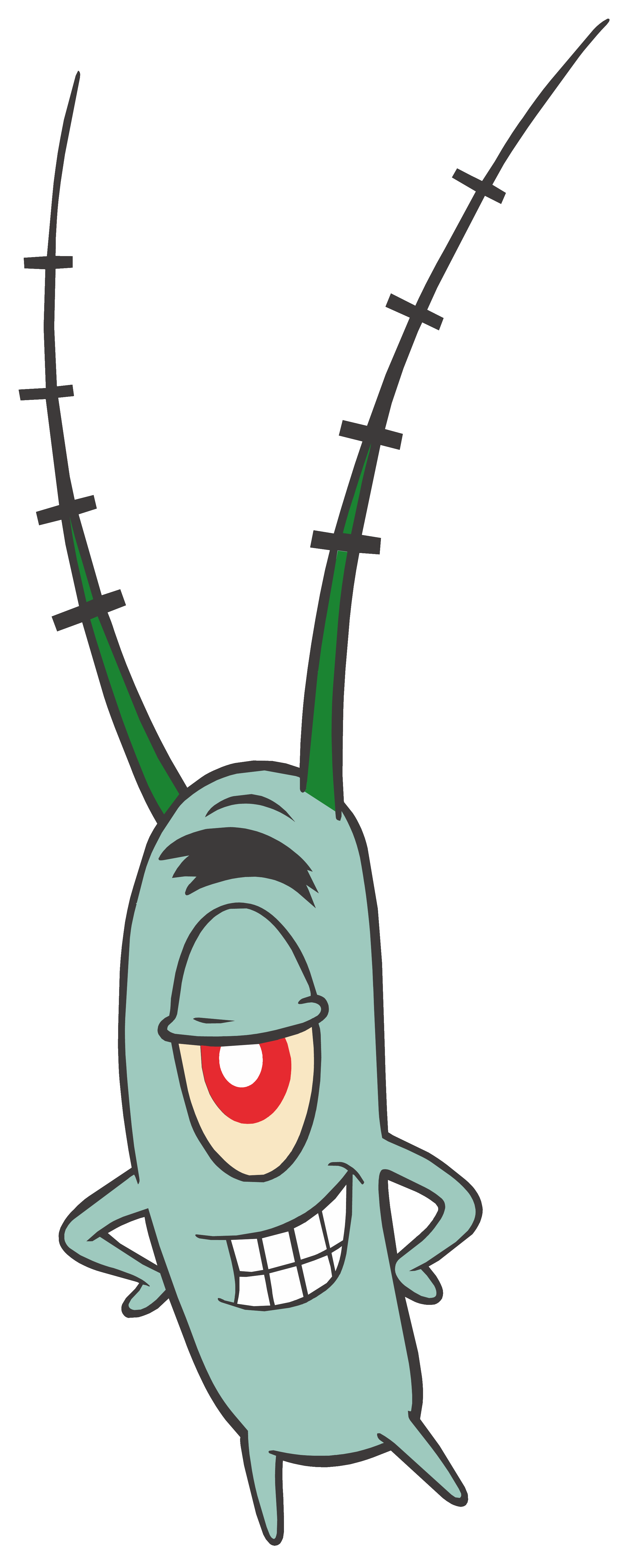 Plankton clipart clipart free library Sheldon -Plankton SpongeBob PNG Clipart Image | Gallery ... clipart free library