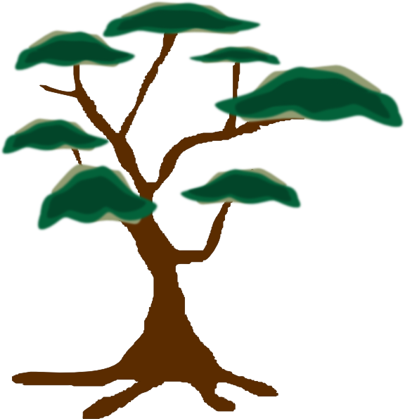 Plant tree clipart svg freeuse Tree Clip Art at Clker.com - vector clip art online, royalty free ... svg freeuse