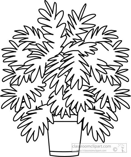 Plant black and white clipart image freeuse library Black And White Plant Clipart | Free download best Black And ... image freeuse library
