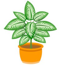 Plant clip art images vector royalty free stock Clip art plant - ClipartFox vector royalty free stock