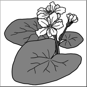 Plant grayscale clipart image library stock Clip Art: Plants: Floating Heart Grayscale I abcteach.com ... image library stock