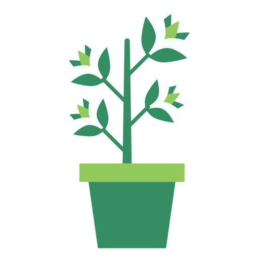 Plant images clipart svg black and white stock Green flowerpot with plant clipart - Transparent PNG & SVG ... svg black and white stock
