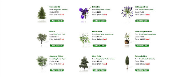 Plant images free download graphic transparent library Download 140 Xfrog plant models for free | CG Channel graphic transparent library