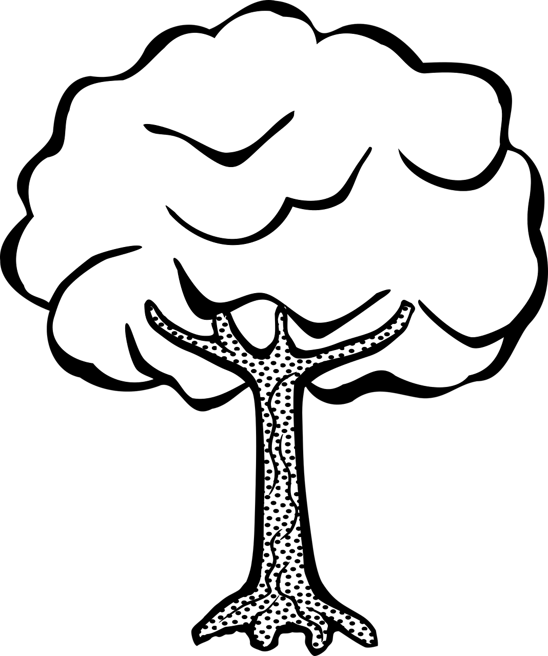 Planting a tree clipart banner black and white Plant Drawing For Kids at GetDrawings.com | Free for personal use ... banner black and white