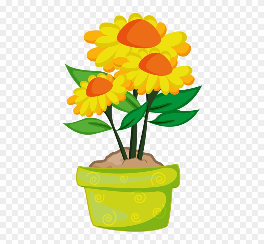 Plants flowers clipart png library library Фотки Rock Clipart, Flower Clipart, Graphic Design - Cartoon ... png library library