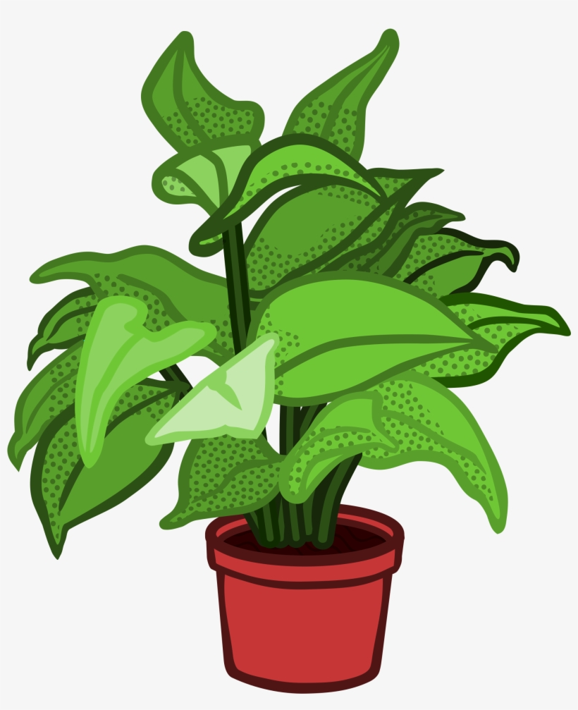 Plants transparent clipart svg black and white library Image Free Stock Pot Plant Planted Flower Free On ... svg black and white library
