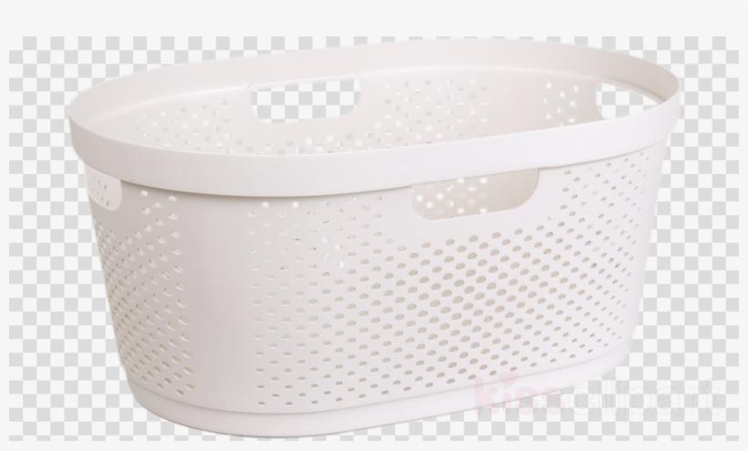 Plastic basket clipart transparent Laundry Basket Clipart Plastic Basket Lid - Smile Logo Png ... transparent