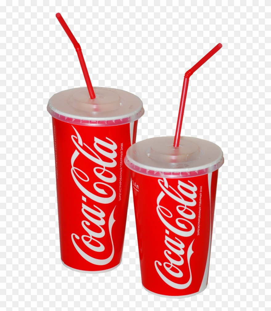 Plastic cup lid and straw clipart png transparent black and white library Soft Drink Cup Png Clip Art Library Download - Coca Cola ... black and white library