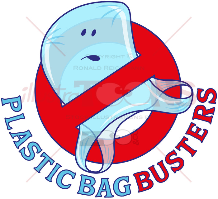 Plastic pollution clipart picture freeuse library Plastic bag busters, stop plastic pollution picture freeuse library
