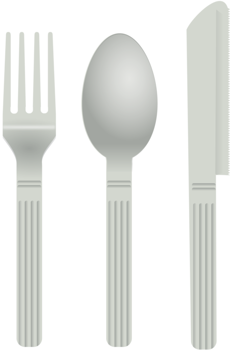 Plastic utensils clipart svg library download HD Wooden Spoon Fork Computer Icons Cutlery - Transparent ... svg library download