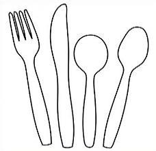 Plastic utensils clipart image stock Free Flatware Cliparts, Download Free Clip Art, Free Clip ... image stock