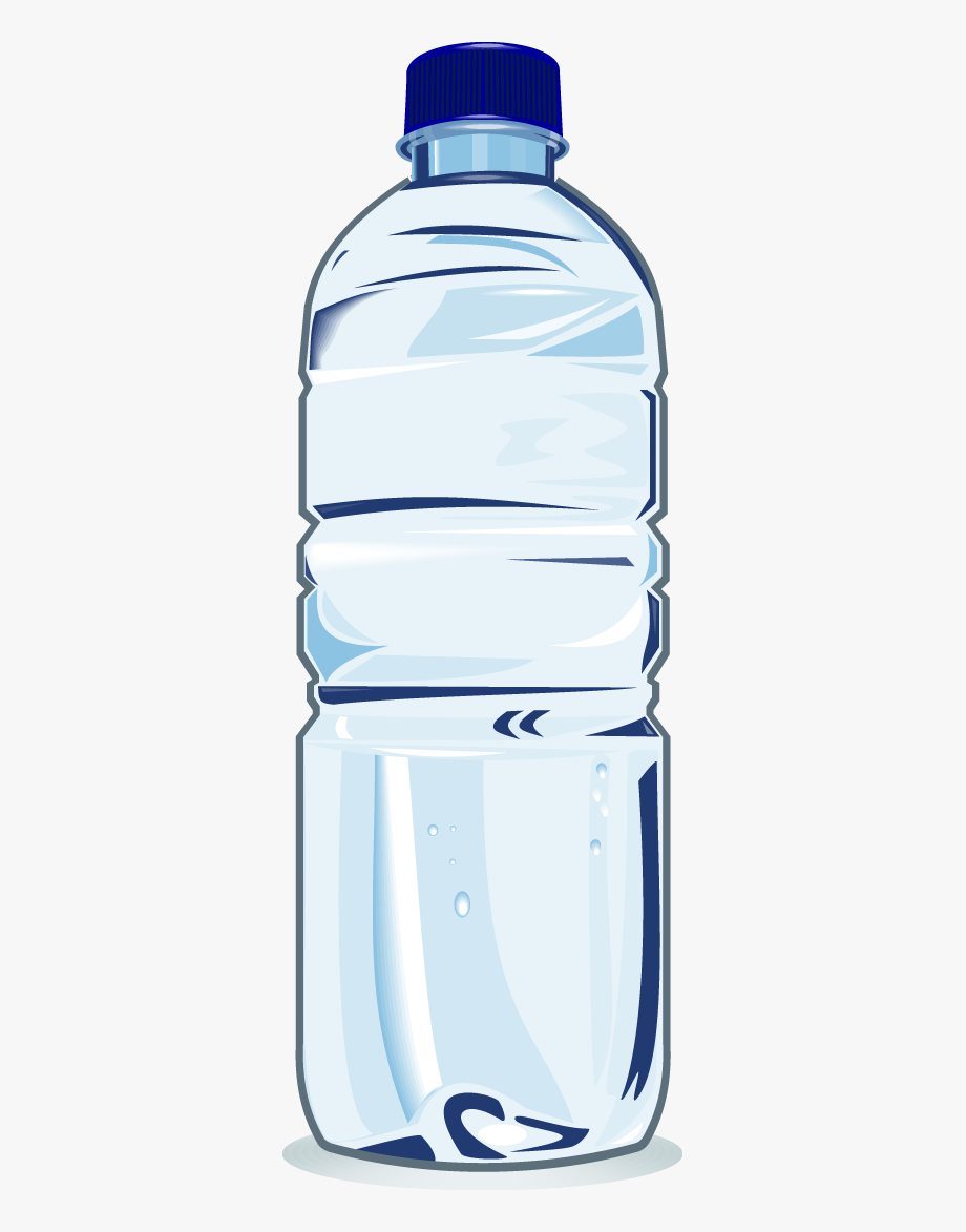 Mineral water bottle clipart jpg royalty free Water Bottle Clip Art - Plastic Water Bottle Clipart #83615 ... jpg royalty free