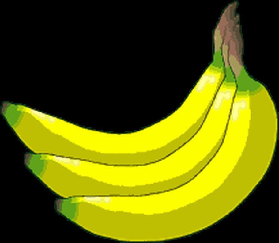 Platano clipart clipart transparent stock Clipart Banana Mashed Banana - Platanos Gif - Png Download ... clipart transparent stock