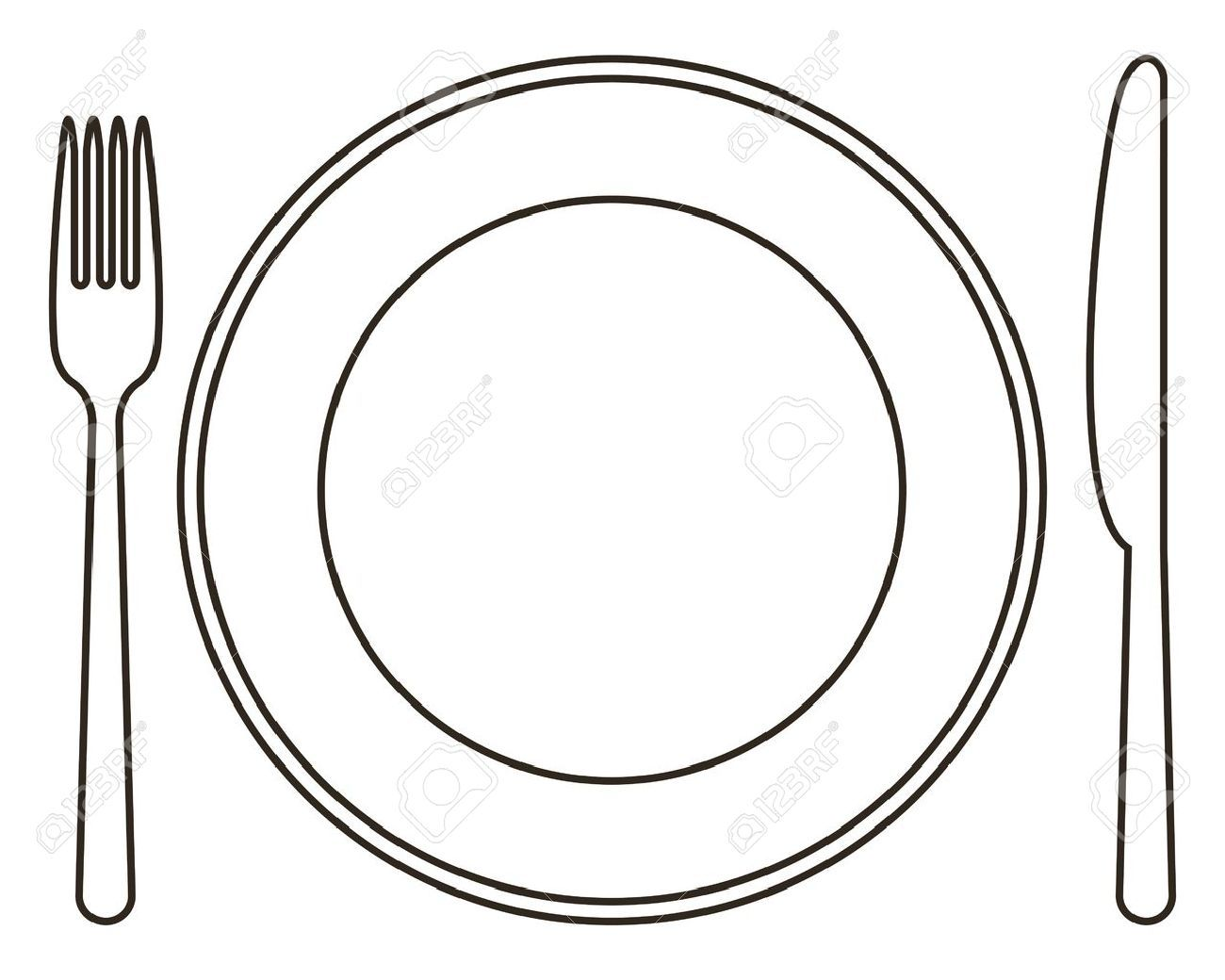 Plate and silverware clipart banner transparent Plate and silverware clipart 3 » Clipart Portal banner transparent